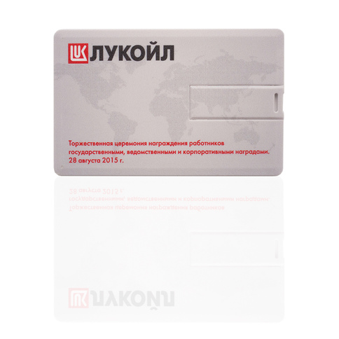 ФЛЕШКА-ВИЗИТКА (USB FLASH DRIVE) KR008